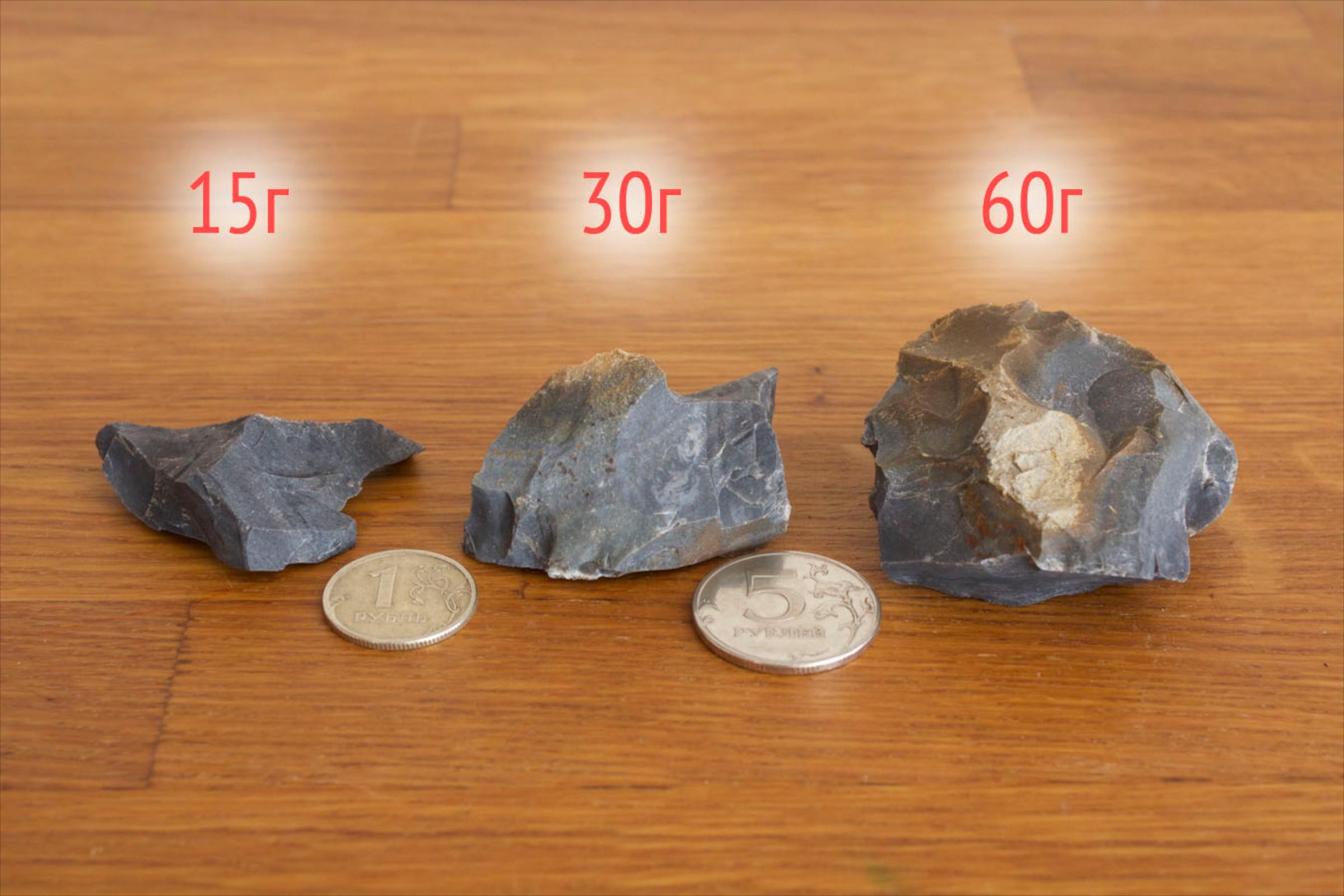 Кремень размеры с монетами - Купить огниво: кресало, кремень, трут и костровые наборы
